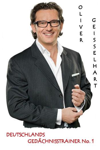 Oliver Geisselhart - Deutschlands Gedächnistrainer Nr. 1