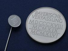 Verfassungsmedallien in Silber