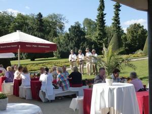Weinfest im Garten