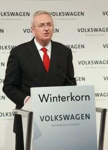 Dr. Martin Winterkorn am Redepult
