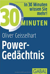 Cover vom Buch Power-Gedächnis