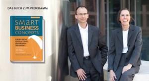 Bild von Brigitte und Ehrenfried Conta Gromberg, Autoren des Buches: Smart Business Concept
