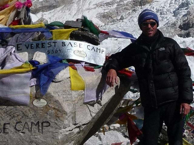 Jochen Sattler Potrait Bergsteigen