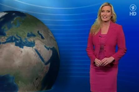 Claudia Kleinert ARD Wettervorhersage