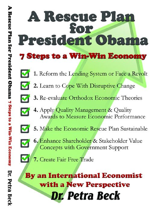 7 steps, Rescue plan for President Obama