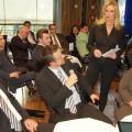 Claudia Kleinert beim Wirtschaftsforum in Lörrach