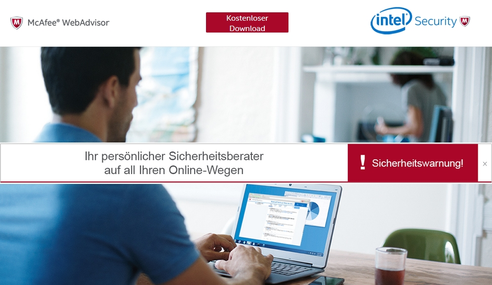 intelsecurity mcafee webseite screen