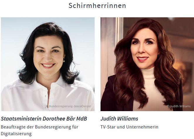 vdu unternehmerinnen Judith Wlliams Dorothee Bär