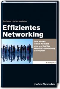 """Cover des Buchs """"Effizientes Networking"""" von Barbara Liebermeister"""