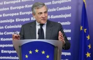 EU Kommissar Antonio Tajani
