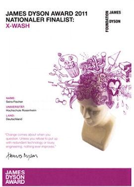 James Dysen Award 2011, Landes Finalistin Deutschland: Seira Fischer, x-wash