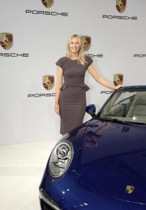 Maria Sharapova für Porsche