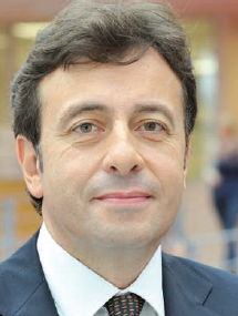 Portrait von Francois Bonvalet, Director General of RMS group