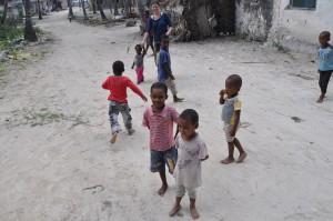 Kinder in Tanasania