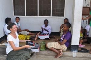 Seira Fischer in Tanasania