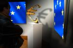 EU-Kommission mit Euro-Symbol