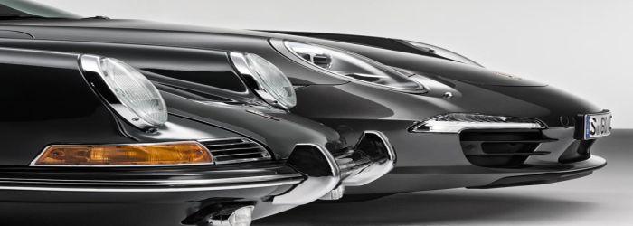 Porsche 911 Carrera 4S und Porsche 911 2.0 Coupe