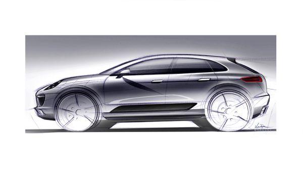 Porsche Modell Macan