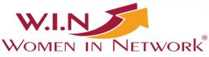 Logo. W.I.N Community